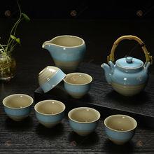 TG-414W226-C-2 chinese porcelain tea set made in China tibetan buddhist mala beads
