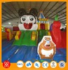 Hot sale popular commercial inflatable slide combo