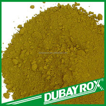 Best Seller in China BUBAYROX Yellow Powder Coating Iron Oxide Pigment
