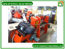 China leather tanning equipment for sale splitting machine factory