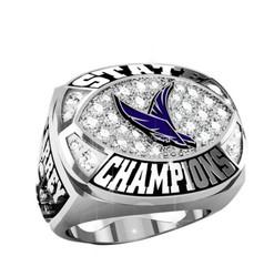 Customized canadian hockey championship rings