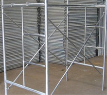 HF door type galvanized arch frame canada scaffolding
