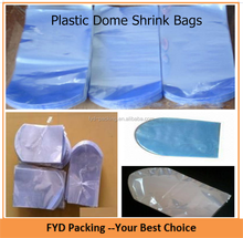 Plastic Dome Shrink Bags For Bottle & Cable Packing