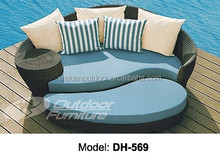 Outdoor pool rattan sunbed (DH-569)