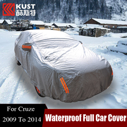 KUST Exterior Accessories Outdoor Waterproof Anti UV Sunshade Full Car Cover For Cruze Sedan Hatch 2009 To 2014 For Chevrolet