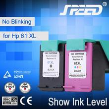100% Compatible printer ink cartridge 61 for HP with New Chip