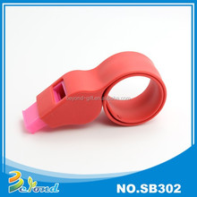 High quality customized sport events whistle silicon wristband