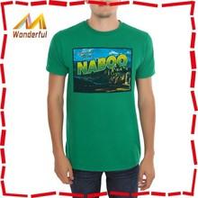 custom cheap dri fit printed men sports t shirt design in China