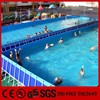 2015 new giant outdoor mobile adult intex adult above ground swimming pool with inflatable swimming pool games