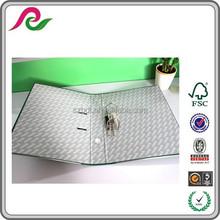 PVC Lever Arch File Folder Assorted Color PVC File Folders Durable Mechanism