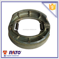 125cc cheap motorcycle parts,motorcycle brake shoe 130mm DY125
