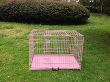 2015 Wholesale Pink Iron Dog Cage