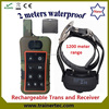 1200Meter waterproof and rechargeable electronic collars for dogs