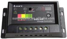 pwm 12v 24v controlador de carga solar 10a 20a com ce rohs