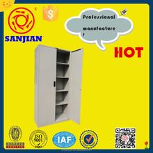 SJ-063 2 door adjustable shelves cabinet designs for small bedroom