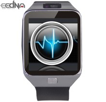 2015 newest smart watch phone,Pedometer,calories,skype,weather news notify