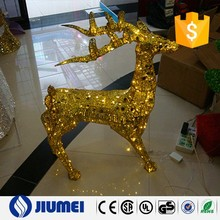new style small deer with led light yiwu christmas decoration