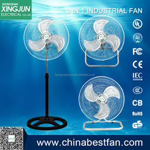 air exhauster plastic cover/hot selling 3 in 1 industrial fan made in china