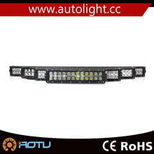 50INCH 288W ATV LED CURVED LIGHT BAR COMBO WORK OFFROAD DRIVING LIGHTS 4WD