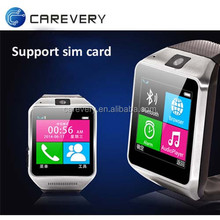 New hot selling android smart watch phone cheap price, touch screen watch with sim card slot bluetooth