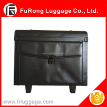 Pilot carry case with aluminum trolley/Business suitcase for man