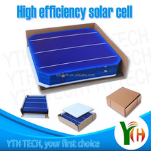 2015 hot sale high efficiency 156mmx156mm 6inch 2BB 3BB polycrystalline multi solar cells mono solar cell made in Taiwan