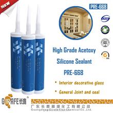 Acetic Liquid Silicone Sealant For Interior Decorative Glass