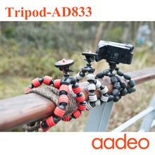 AADEO wholesale Flexible Leg Gorillapod Type Mini Tripod for Digital Camera and smart phone 181