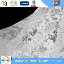 Super soft and pretty design Nylon lace fabric