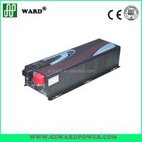 LCD hybrid off grid solar 120v-240v dc to ac power inverter 1000W/2000W/3000W