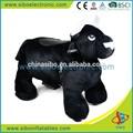 gm59 passeios indoor crianças elétrico de diversões passeios panda coin operated passeio infantil
