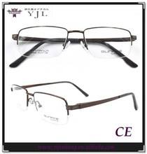 2015 classic optical frames titanium design for men
