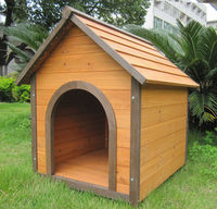 Fancy small wooden doghouse / Pet house / wooden dog kennel
