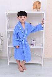Children wholesale cheap boy bathrobe,cotton boy nightdressing