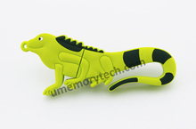 Best wholesale price Cartoon Chameleon shape usb flash drive memory stick