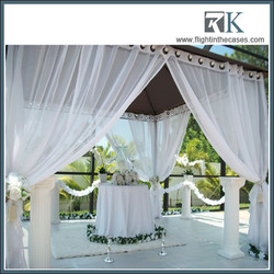 Wedding Party square tent wedding ceiling drapery
