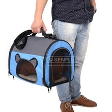 Puppy carrier Pet Mesh Travel Tote