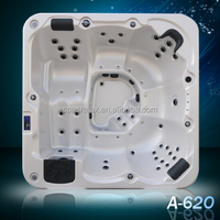 Outdoor Massage Acrylic Bathtub Jetted Tub Shower Combo SPA-A620