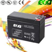 rechargeable 12v 7ah solar battery , vrla battery manufucturer