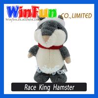 New Arrival Custom Walking And Talking Race King Hamster Plush Toys