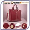 Best Selling Popular Faux PU Leather Shoulder Fashion Handbag Promotional Tote Latest Design Messenger Bag With Shoulder Strap