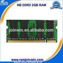 Las importaciones de China de ordenador portátil , venta al por mayor / SODIMM DDR2 800 2gb ram dimm