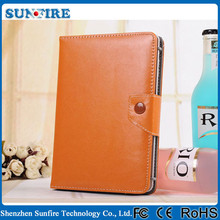 Universal Leather Case for ipad case, belt clip case for ipad mini