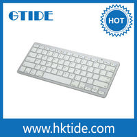 Gtide KB450 Wireless Bluetooth Slim Keyboard for iPhone, iPad, Samsung Galaxy, Tablet PC and Laptop