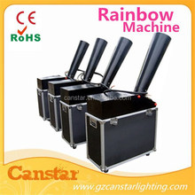 stage rainbow machine/confetti cannon/stage effect spray confetti machine