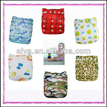 Washable Antibacterial Baby Cloth Bamboo Nappy Diaper