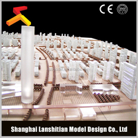 3D complex commercial architectural model builder
