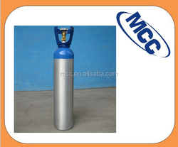 Aluminum gas cylinder for CO2 and specify gas