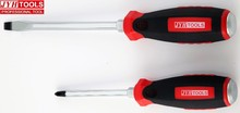 advanced quality red and black handle hand tools screw drivers
