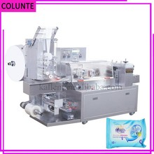 Mojada automática servilleta tejido húmedo scott higiénico máquina de embalaje de papel